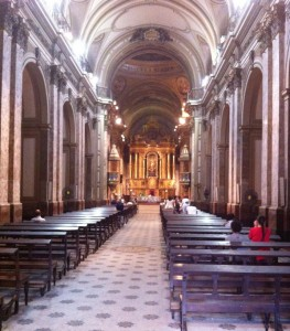 Catedral Metropolitana de Buenos Aires - Pews