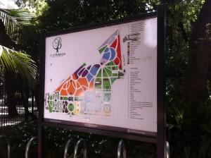 Map Of Jardín Botánico