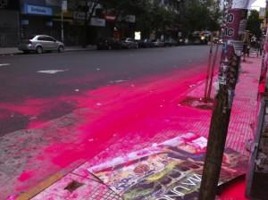 Bright Red Festival Dye