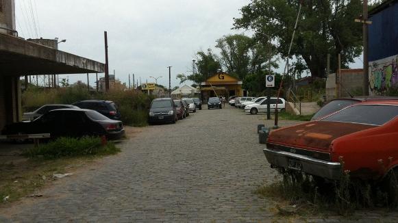 Entrance To A Very Unfarm-like Farmer's Market