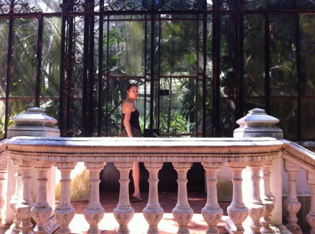Sara at Jardín Botánico