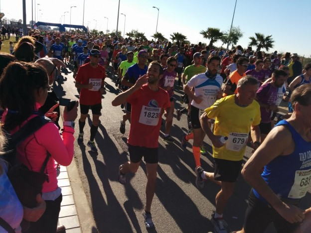 jj in the Málaga Half-Marathon